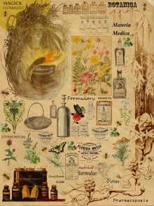 Victorian Apothecary Printable For Arts and Crafts